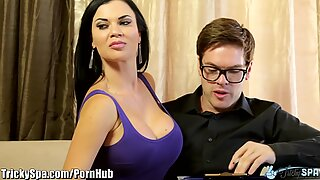 british mummy Jasmine Jae humps Immigration Officer