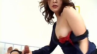 Curvy ass Japanese AV Model endures a good fuck