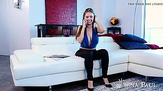 Bad girl Lena Paul fucking in the couch Full att: xaporn.tk
