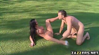 Nikkis perfect plump ass in an anal fuck fest