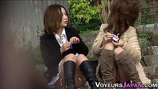 Asian teen panties filmed