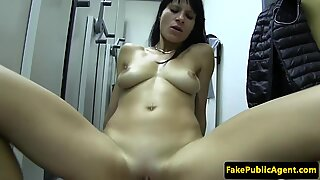 Busty eurobabe cockriding for cash