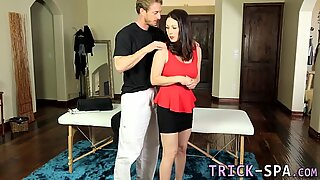 Milf pounded by masseur