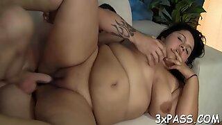 gigantic beautiful nymph mother