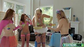 Scarlett Snow, Sophia Lux, Vanna Bardot In DJ Fuck