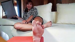 Russian Foot Goddess