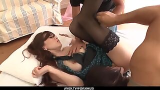 insolent japanese romance on two cocks by ameri ichinos - more at 69avs com