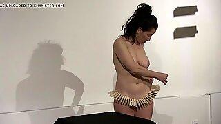 Elena Molinaro with the nice fat MILFy titties