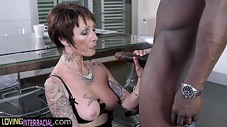 Gilf gets moist for bi-racial plowing