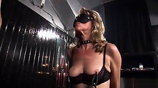 German Granny Bondage Spanking