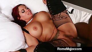 Big Thick Jasmeen LeFleur Ties Up & Fucks BBC Rome Major!