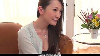 Stunning Tsubasa Takanashi hard sex with two men - More at javhd.net