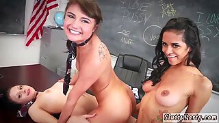 Bi couples orgy hd After School Detention