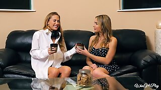 Carter Cruise and Blair Williams enjoy each others hot pussies