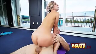 Hot chick gets her ass pounded
