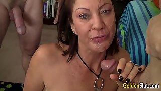 Gangbanging Mature Slut Vanessa Videl