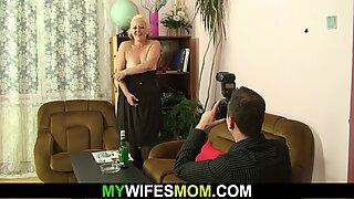 elder mummy inlaw taboo photosession