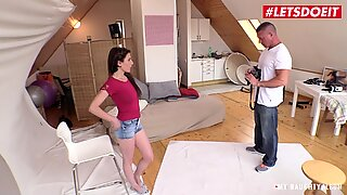 MyNaughtyAlbum - Horny Czech Teen Seduces Photographer into Hardcore Pussy Fuck - LETSDOEIT