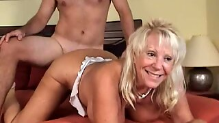 Granny Getting Laid By Her Neighbor