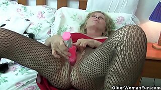 grandma is hooked on masturbation