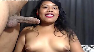 Latina Giving Blowjob