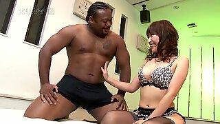 Yui Ayana Fucks Black & Asian Dick in 3some (Uncensored JAV)
