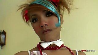 Thai teen princess takes cock