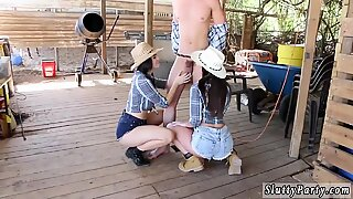Farm Girls Sucking Cowboy