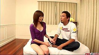 Ibuki gets creampied in scenes - More at Pissjp.com