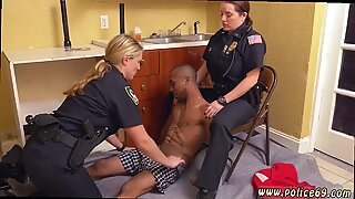 British milf red xxx first time Black Male squatting in home gets our milf officers