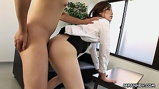 Japanese office sexReport this video