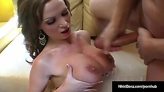 Penthouse Pet Nikki Benz Takes A hefty manhood From Alex Knight!