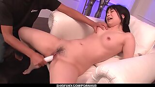 Cum on Face for Hina Maeda after a Nice Toy Fuck - more at Pissjp com