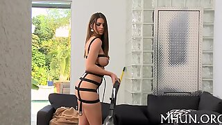MILF adores making out with stud
