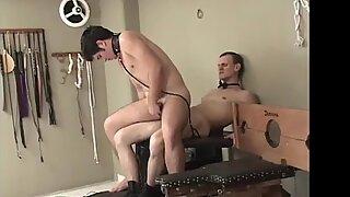 BDSM latino hunk bareback fucked