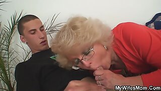 Angry not mother in law fucks him