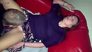 Hardcore scene with sexy mom