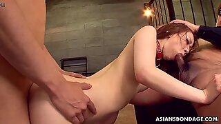 Japanese gal, Karin Yazawa had a threesome, uncensored