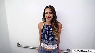 Gorgeous Rayna Rose flash tits for a fat cash - Rose A