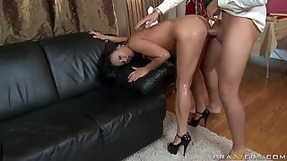 Sexy Asian Mya Luanna having her sexy pussy rammed from the back