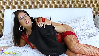 OldNannY Big Curves and Huge Boobs of Mature Lulu