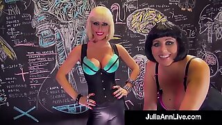 Busty Dr. Julia Ann & Dr. Jessica Jaymes Need A Dick Break!