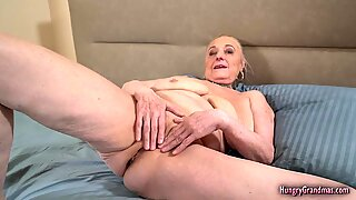 Busty Granny Gets Her Pussy Banged Hard