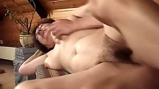 Saggy Granny Bent Over And Fucked