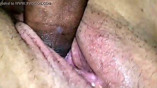 Back with a creampie